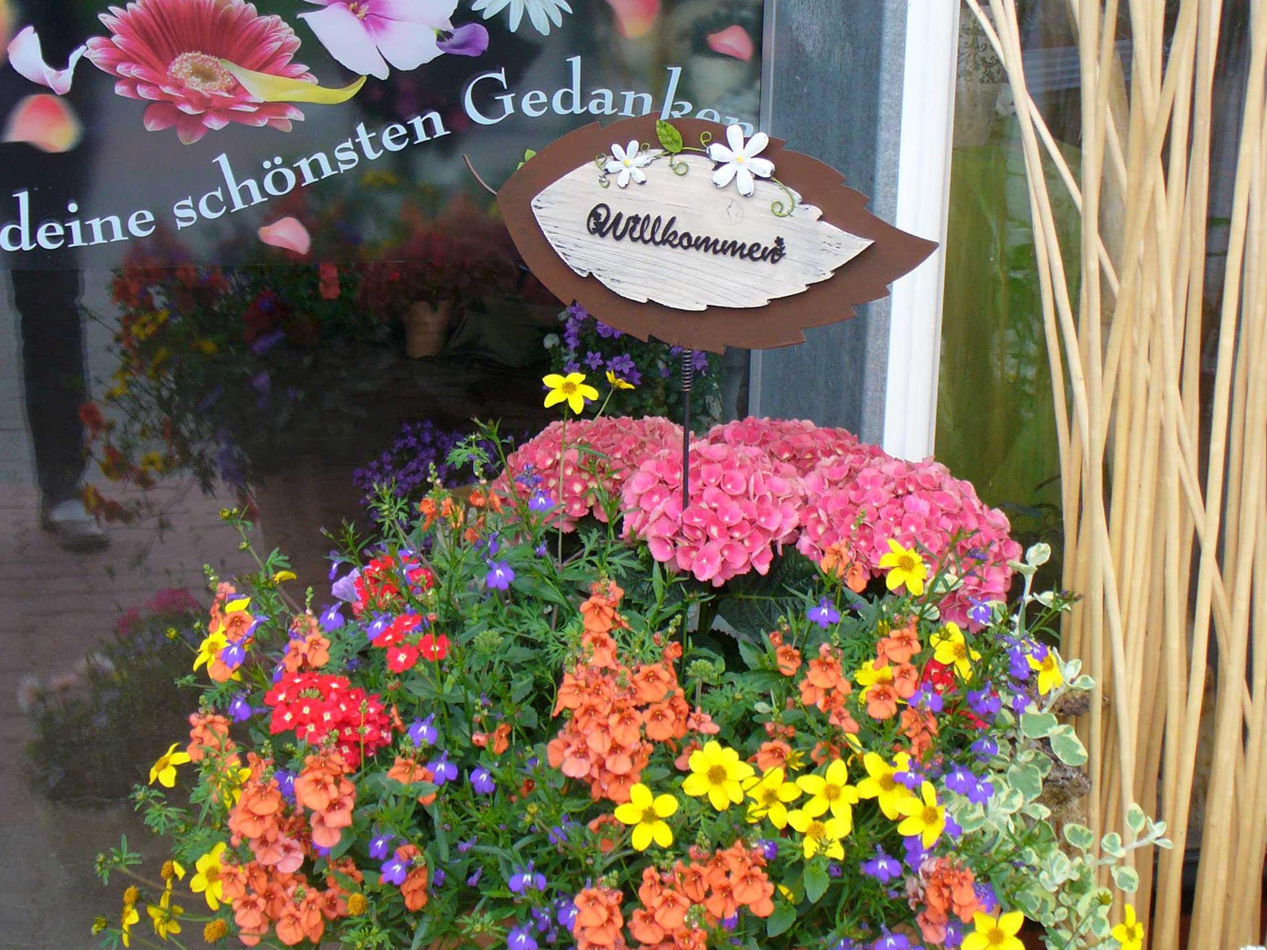 Terrasse Mit Blumen Gestalten Interesting Terrasse Mit Roten . Terrasse  Blumen Gestalten ...